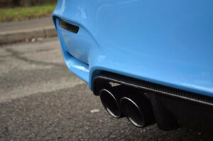 BMW M4 M3 F80 F82 F83 MP style carbon fiber rear diffuser