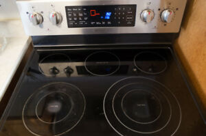 Samsung Electric Range (Stove/Dual Oven) NE597R0ABSR