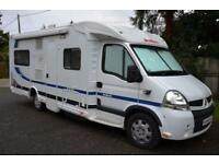 2007 4-bert Dethleffs Esprit RT6844 motorhome for sale with service history
