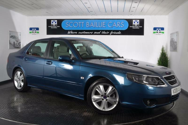 2008 saab 9 5 aero saloon petrol in east end glasgow. Black Bedroom Furniture Sets. Home Design Ideas