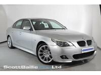 2005 05 BMW 5 SERIES 3.0 530D SPORT 4D AUTO 215 BHP DIESEL