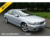 2009 09 JAGUAR X-TYPE 2.2 SOVEREIGN 4D 152 BHP DIESEL