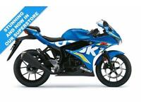 2017 SUZUKI GSX-R 125, METALLIC TRITION BLUE, BRAND NEW!