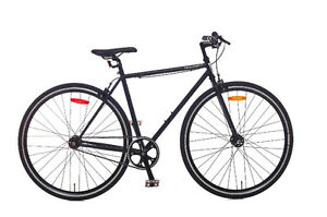 Vélo Fixie/Single Speed Minelli – Soloist Noir Acier – 2017