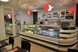 Freezers, Gelato, Ice Cream, Display cases