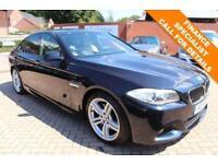 2011 11 BMW 5 SERIES 3.0 535D M SPORT 4D 295 BHP DIESEL