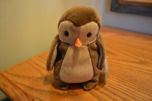 Ty Beanie Babies *Retired & Rare* - Hoot the Owl