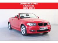 2008 0BMW 1 SERIES 3.0 125I SE AUTO 2DR CONVERTIBLE 41,000 MILES