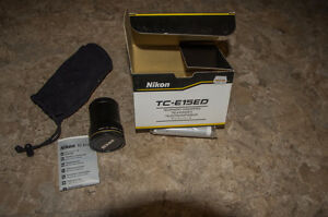 Nikon TC-E15ED 1.5x Tele Converter  for Coolpix 5400, 5700, 8700