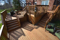 Decks/Fences. All shapes and sizes. Great Price. Great Quality