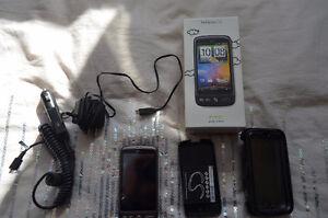 Téléphone HTC Désire avec toutes les accessoires compris neuf