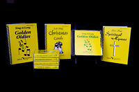3 sets of Music cds and Matching Songbooks