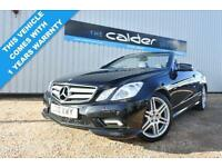 2010 10 MERCEDES-BENZ E CLASS 1.8 E250 CGI BLUEEFFICIENCY SPORT 2D 204 BHP