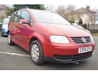 2005 Volkswagen Touran 1.6 ( 100bhp ) ( 7st ) 7 SEATER