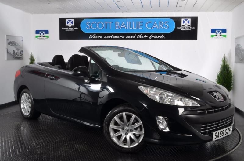 2009 peugeot 308 cc sport convertible petrol in east end glasgow gumtree. Black Bedroom Furniture Sets. Home Design Ideas