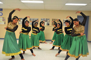 Bollywood dance lessons at Scarborough and Pickering!