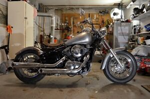 VN800 Bobber with a little bit of Rat Rod
