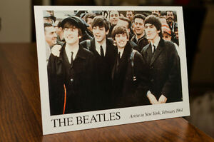 3 CARTES POSTALE THE BEATLES