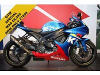 2016 16 SUZUKI GSX-R600 L6 MOTO GP BLUE ***LOW MILEAGE***