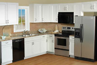 20% off for White Shaker Frameless Kitchen Cabinets-Mission