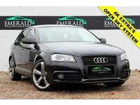 2012 61 AUDI A3 2.0 SPORTBACK TDI S LINE SPECIAL EDITION 5D 138 BHP DIESEL