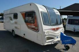 2013 Bailey Unicorn Valencia - 4 Berth - Fixed Bed - Touring Caravan