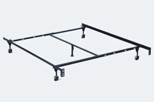 Adjustable King/Queen/Full Size Metal Bed Frame