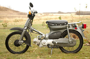Honda C70 Project Bike for Sale
