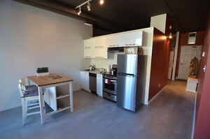 Just renovated loft located on Jasper Ave. and 100 St. for rent