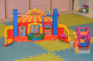 Cirque et Grande Roue Little People de Fisher Price