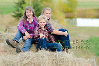 Lifestyle Family Photographer Fall Sessions