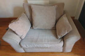 Next Garda 3 Seater Sofa & Large Armchair/Love Seat