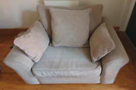 Next Garda 3 Seater Sofa & Large Armchair/Love Seat