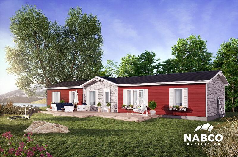 Maison mobile neuve vendre par le fabricant maisons for Maison mobile neuve