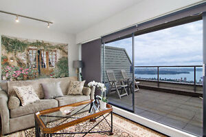 Panoramic views West Van Townhouse-like condo for SALE North Shore Greater Vancouver Area image 8