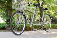 Vintage tandem bicycle rental