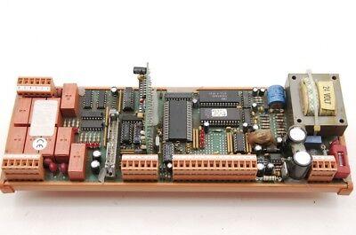 Weidmuller Hirata 042M Relais Controllerplatine Din Halterung 24V Transformator