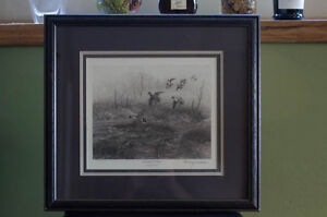 Barney Anderson Prints for Ducks Unlimited * Two * Numbered