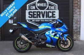 2017 17 SUZUKI GSX-R1000 L7 ABS MOTO GP, BLUE LOW MILEAGE EX DEMO! FREE YOSHIMUR