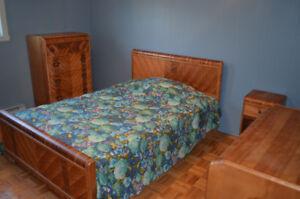 Mobilier chambre à coucher Art déco