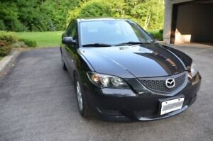 2007 Mazda 3 GS  great condition, only 193K kms