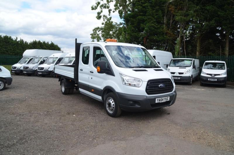 b197007be5 2014 FORD TRANSIT 2.2 TDCI 350 125ps Long Wheel Base Double Cab Tipper  DIESEL