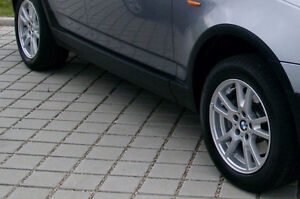 4 BMW Rims with Tires - 235/55/17