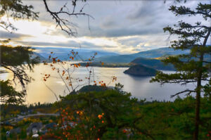 Fully Serviced lots, Breathtaking Views for sale in Blind Bay BC
