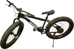 NEW DEVIANT FAT TIRE BIKE MOUNTAIN BIKE 26 OFF ROAD BIKE XX