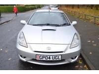 2004 TOYOTA CELICA RED VVT-I COUPE PETROL