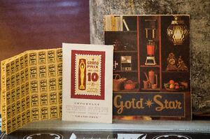 Livret et timbres Gold Star Vintage 1960