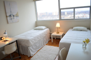 $599 - MODERN SHARED ROOM NEAR SUBWAY FOR STUDENTS