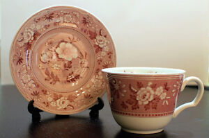 The Spode Archive Collection Botanical Teacup and Saucer Edmonton Edmonton Area image 1