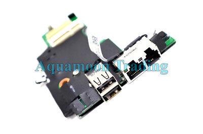 New Genuine Dell Latitude E5410 Audio LAN USB Power Button Daughter Board